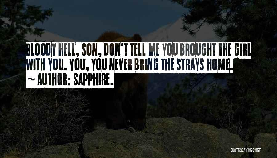 Sapphire. Quotes 698681