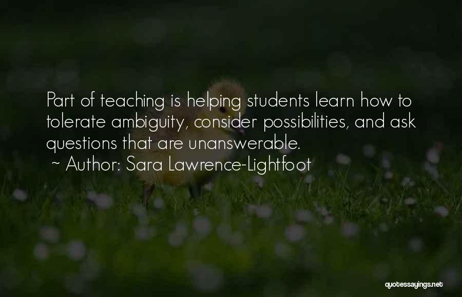 Sara Lawrence-Lightfoot Quotes 1024079