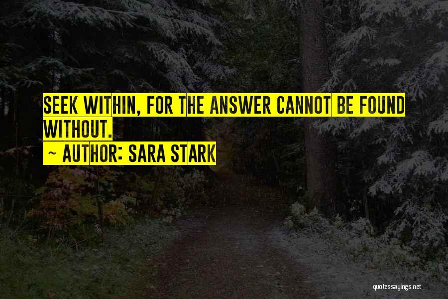 Sara Stark Quotes 949451