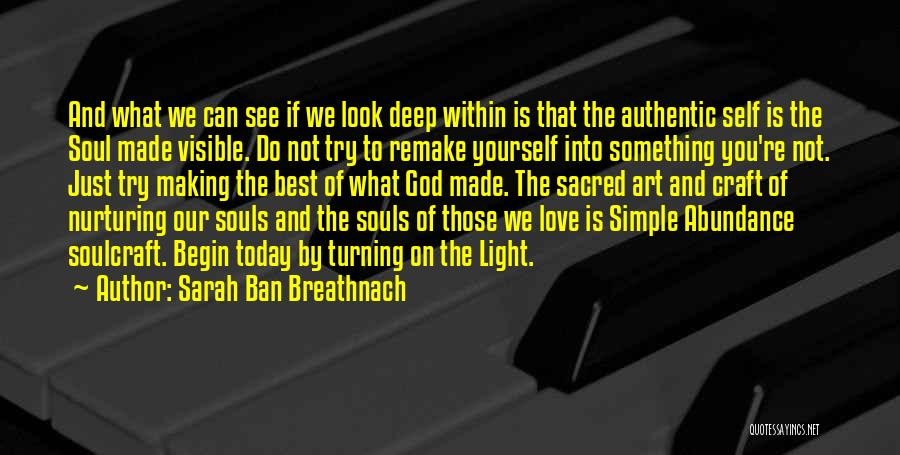 Sarah Ban Breathnach Quotes 1987622