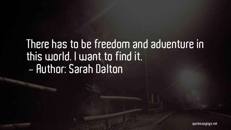 Sarah Dalton Quotes 1991958