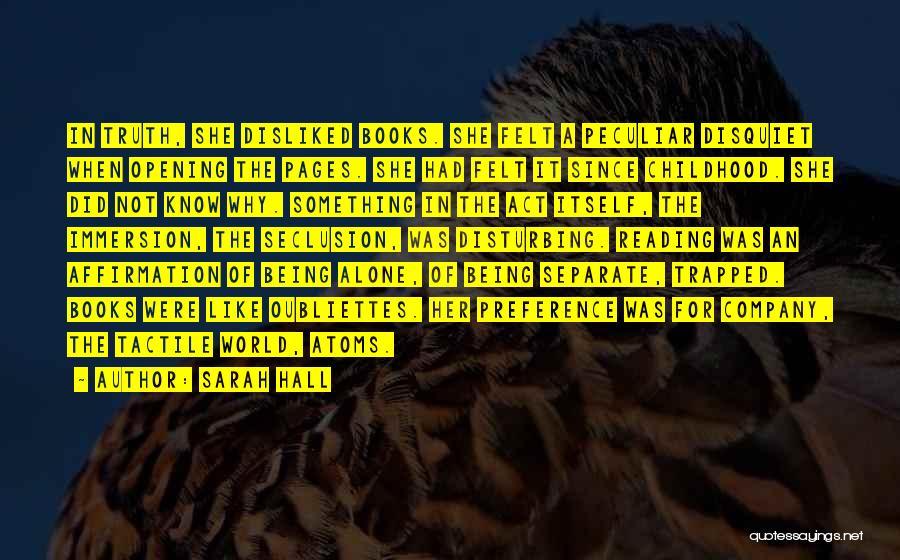 Sarah Hall Quotes 1012059