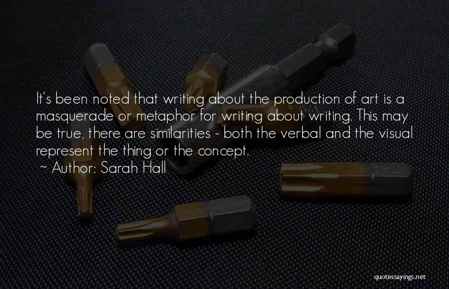 Sarah Hall Quotes 1224326
