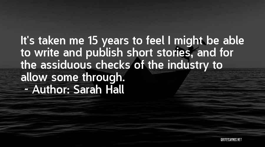 Sarah Hall Quotes 1242494