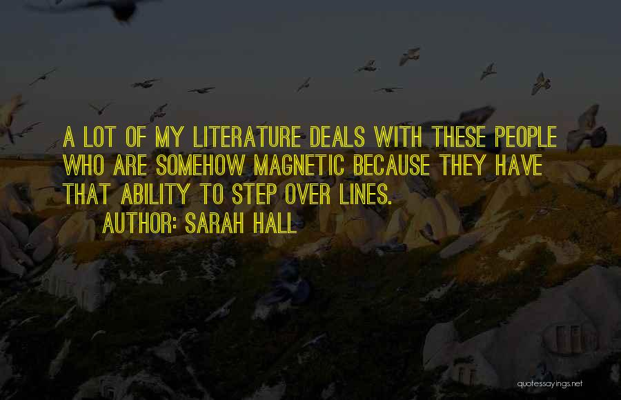 Sarah Hall Quotes 149127