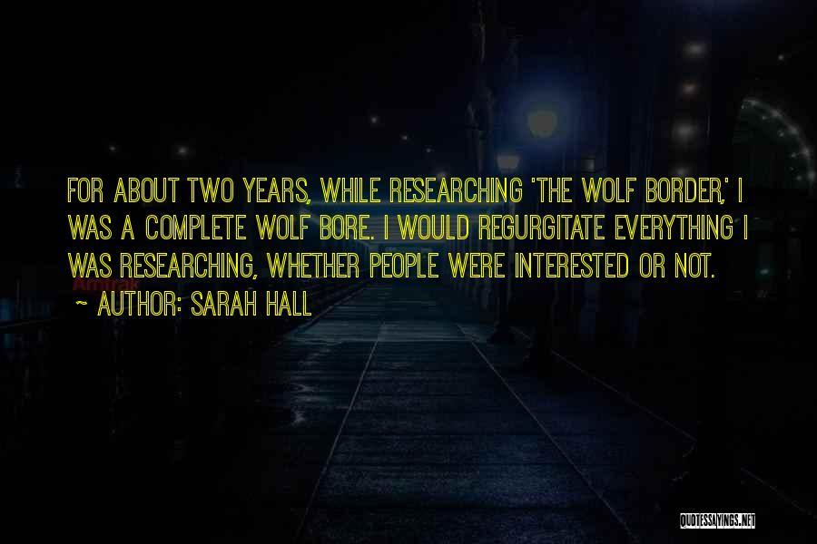 Sarah Hall Quotes 1576125