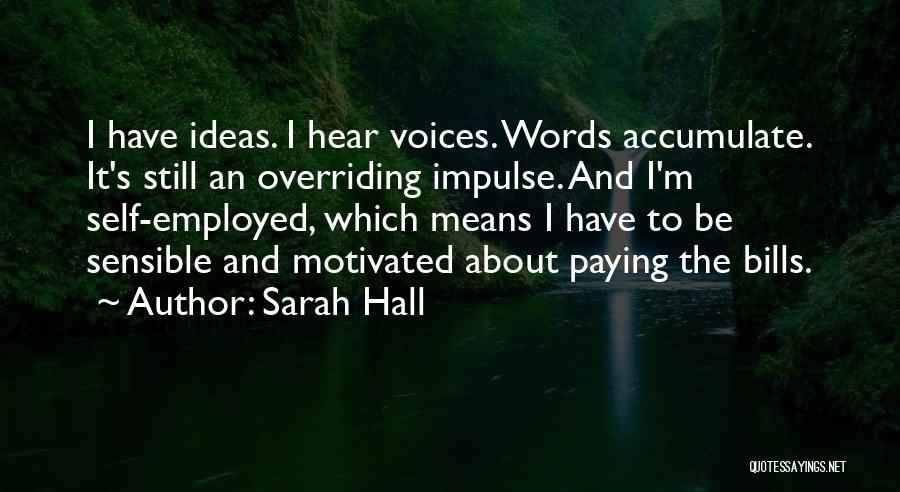 Sarah Hall Quotes 2069656