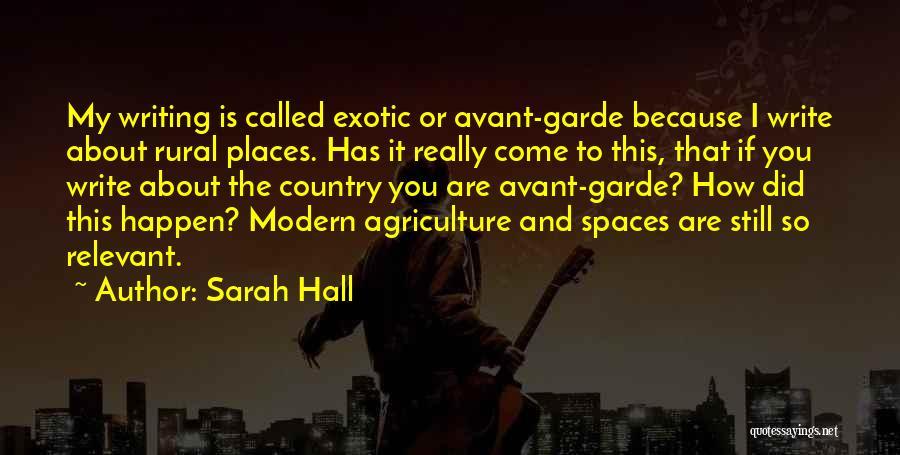 Sarah Hall Quotes 237939