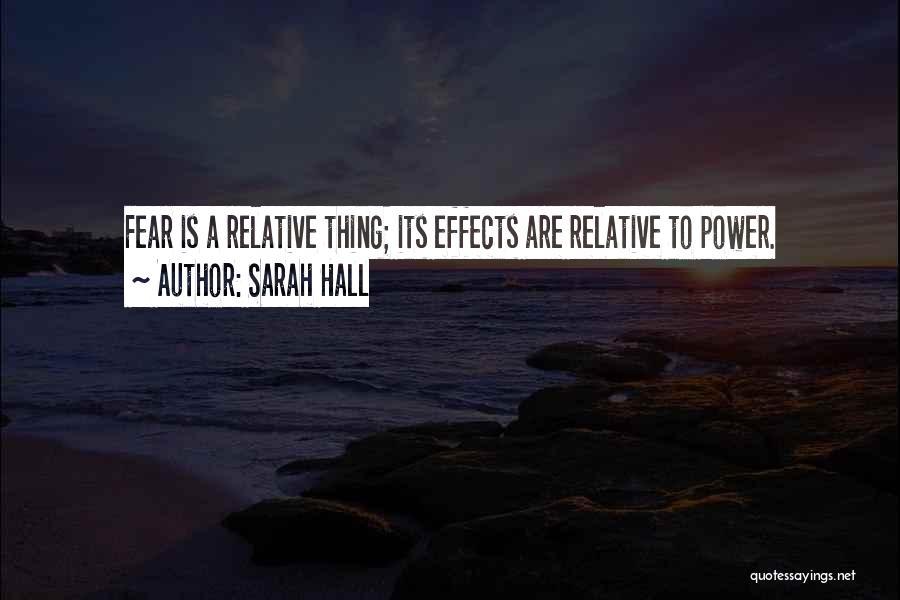 Sarah Hall Quotes 330822