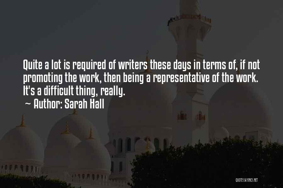 Sarah Hall Quotes 638206
