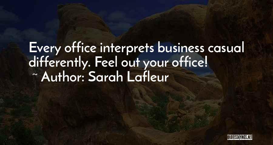 Sarah Lafleur Quotes 961251