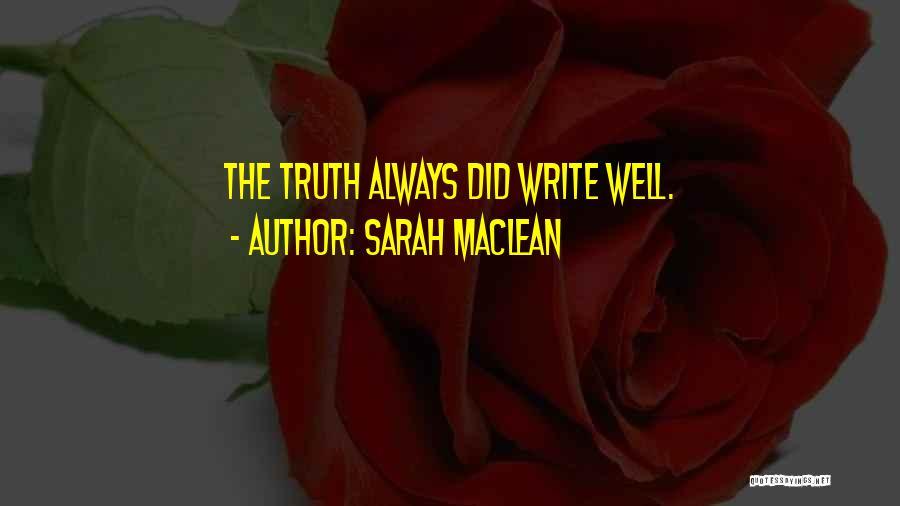 Sarah MacLean Quotes 271210