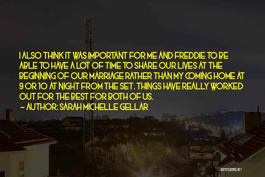 Sarah Michelle Gellar Quotes 1417979