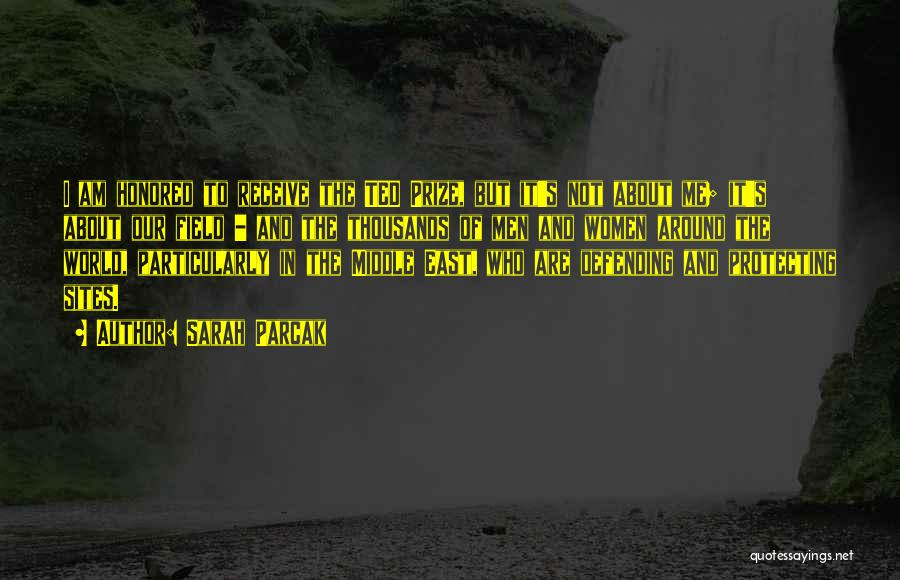 Sarah Parcak Quotes 203316
