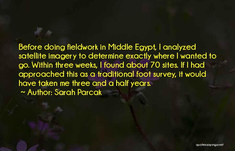 Sarah Parcak Quotes 275546