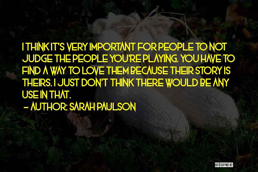 Sarah Paulson Quotes 1038450