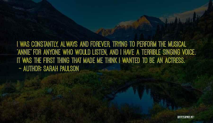Sarah Paulson Quotes 1692814