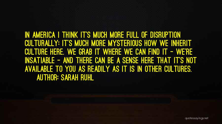 Sarah Ruhl Quotes 130609