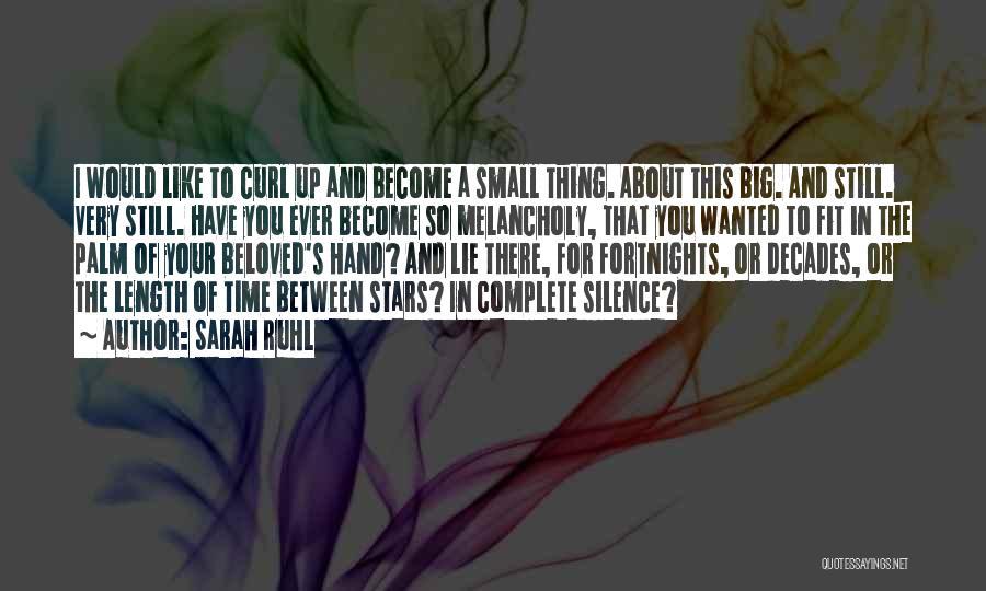 Sarah Ruhl Quotes 1513318