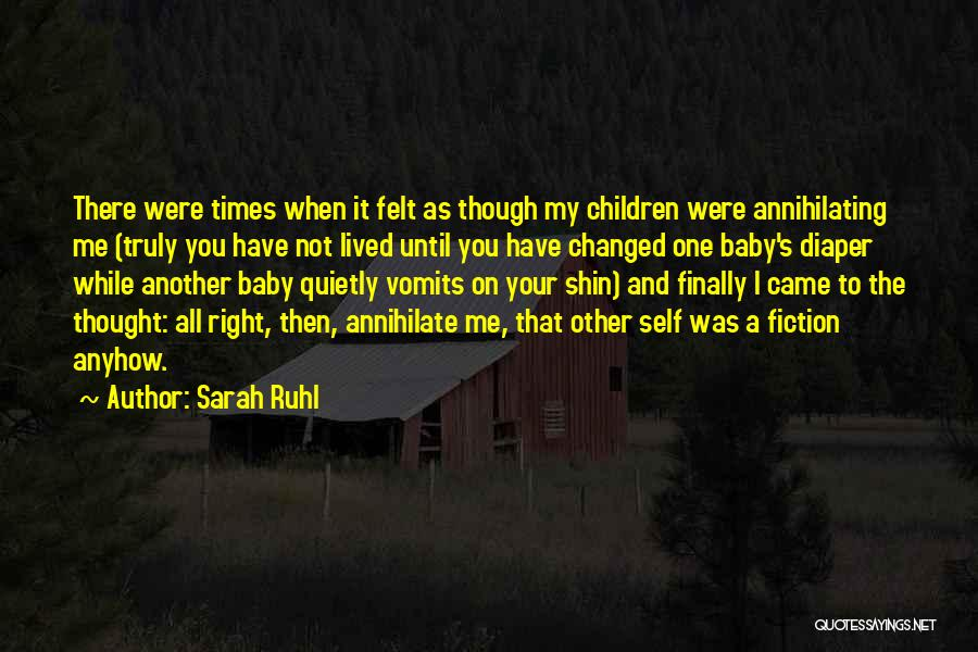 Sarah Ruhl Quotes 1565219
