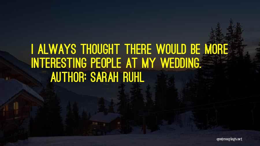 Sarah Ruhl Quotes 1691337