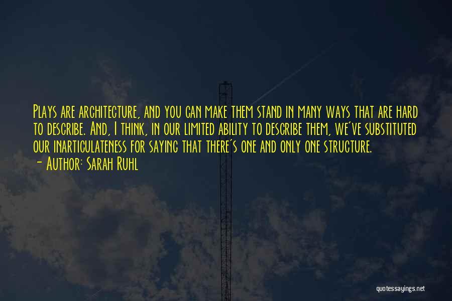 Sarah Ruhl Quotes 1846901