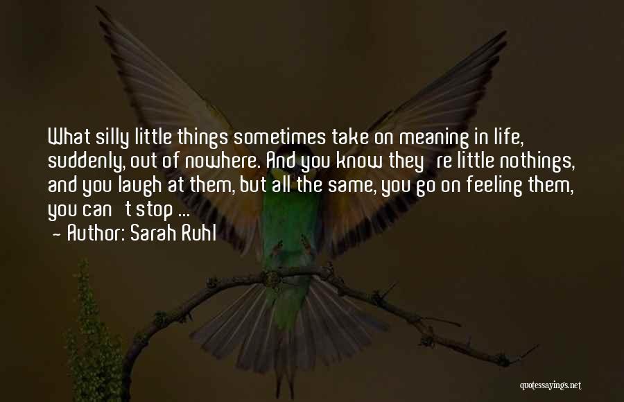 Sarah Ruhl Quotes 1905320