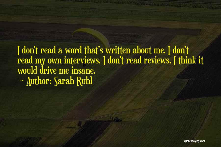 Sarah Ruhl Quotes 885497