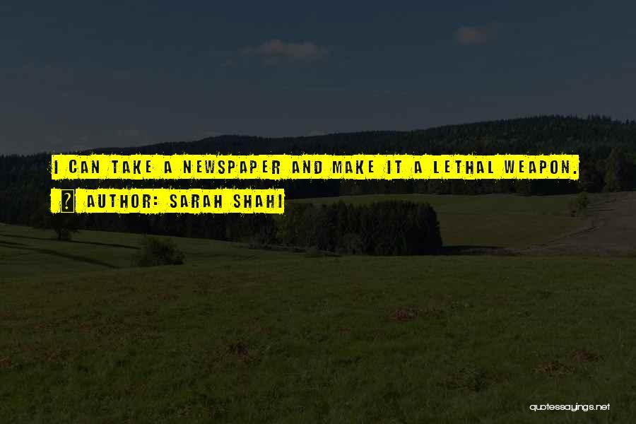 Sarah Shahi Quotes 268952