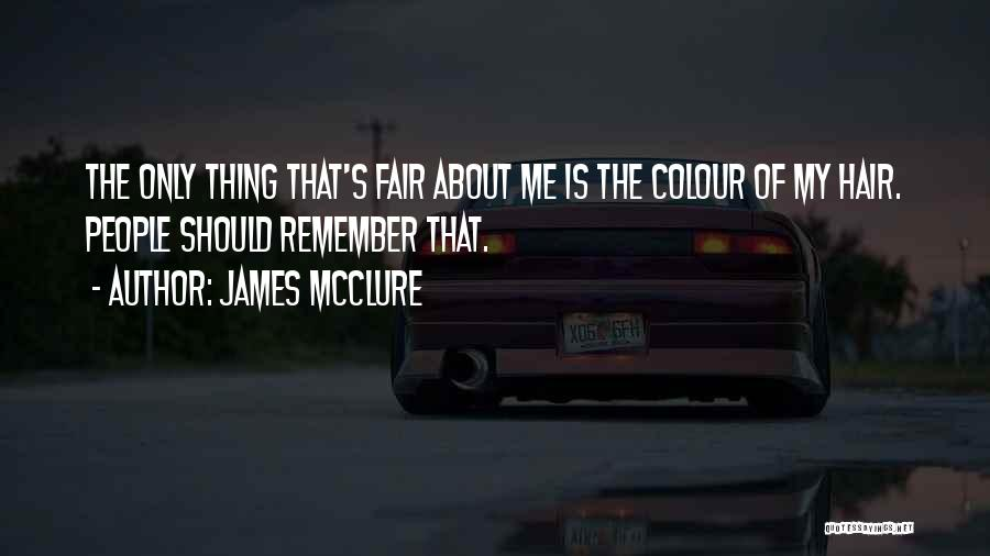 Sarcasm At Its Best Quotes By James McClure