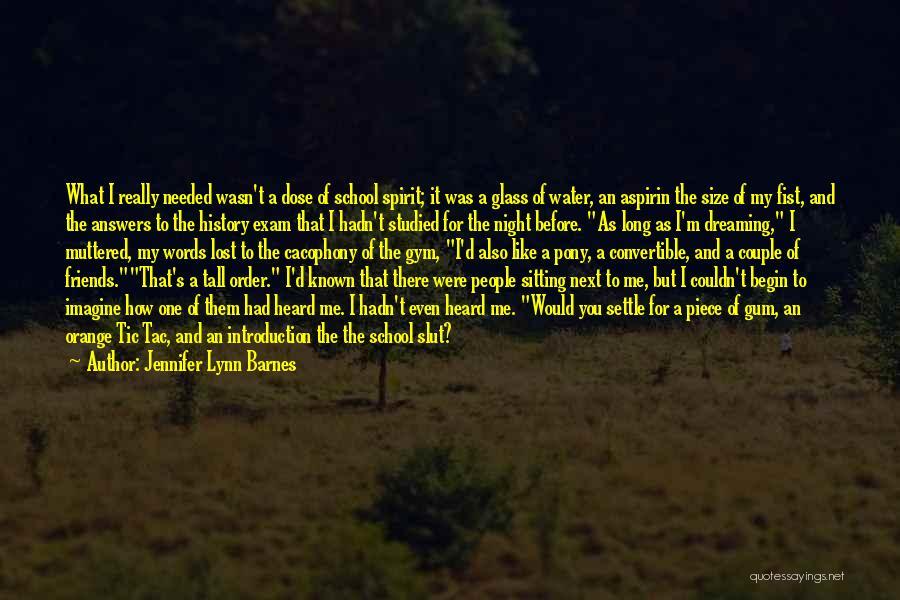 Sarcasm At Its Best Quotes By Jennifer Lynn Barnes