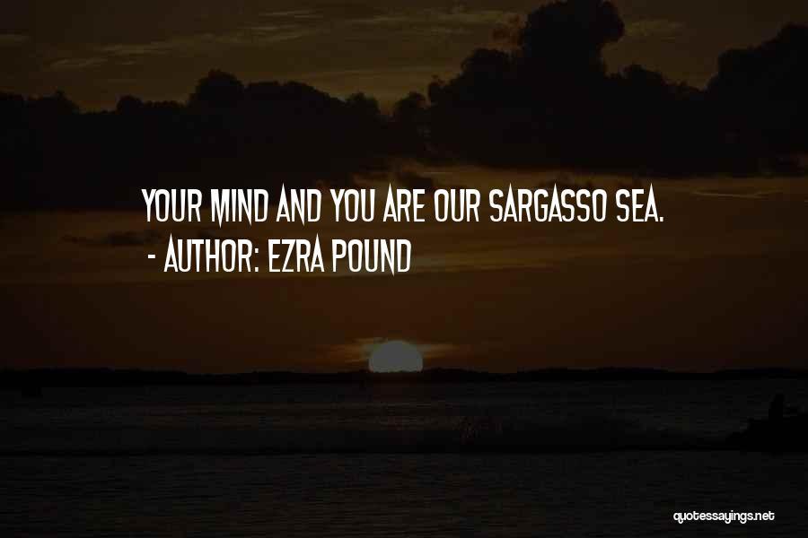 Sargasso Sea Quotes By Ezra Pound