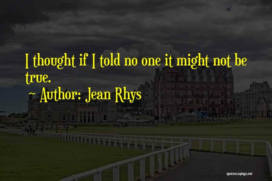 Sargasso Sea Quotes By Jean Rhys