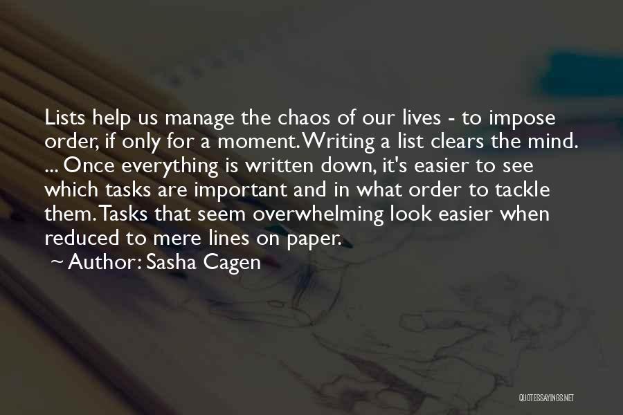 Sasha Cagen Quotes 529207