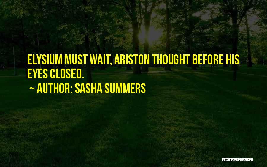 Sasha Summers Quotes 1147330