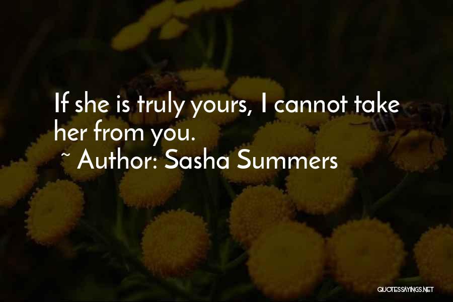 Sasha Summers Quotes 1814055