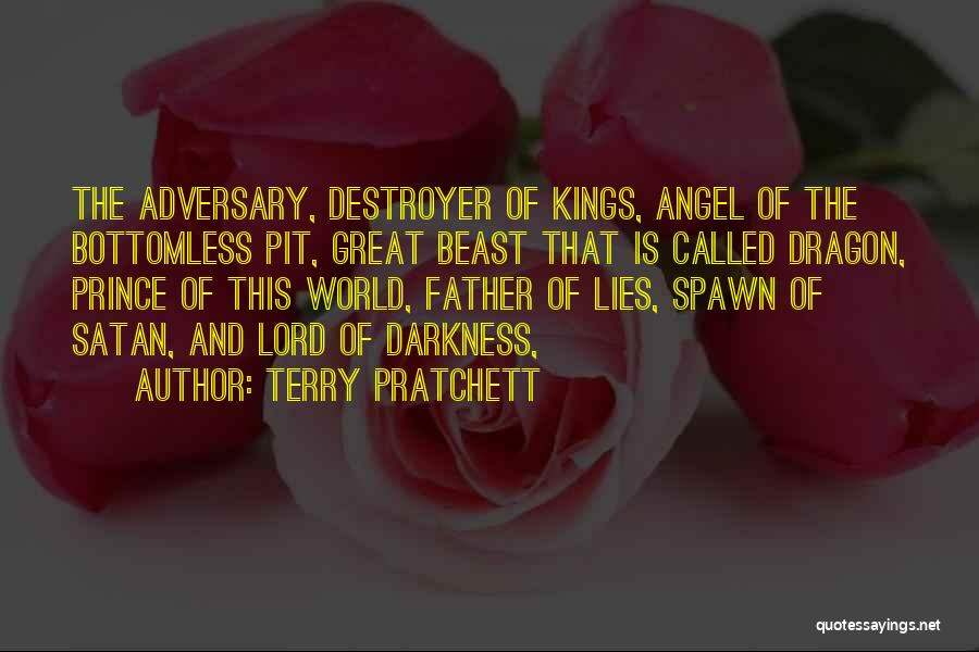 Satan Pit Quotes By Terry Pratchett