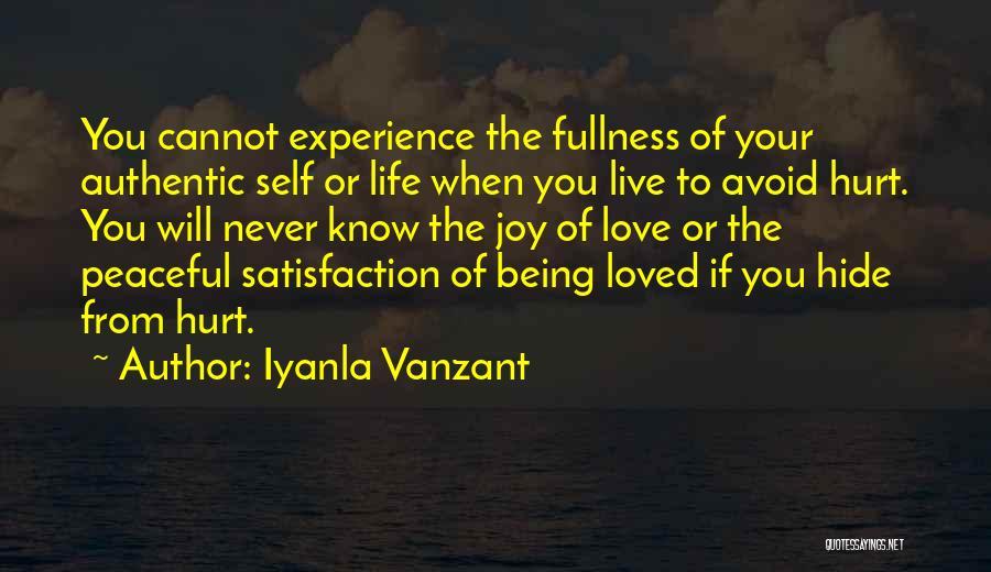 Satisfaction Love Quotes By Iyanla Vanzant