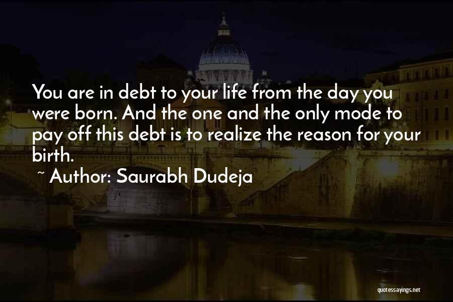 Saurabh Dudeja Quotes 1126809