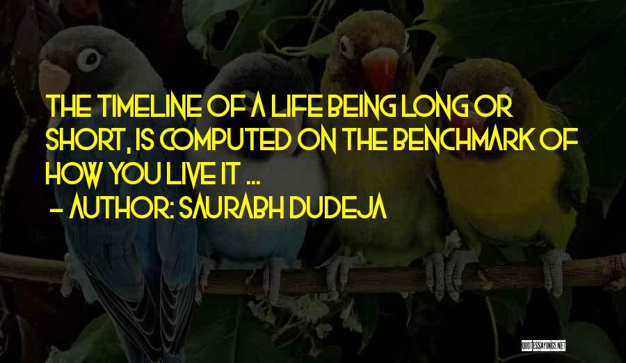Saurabh Dudeja Quotes 357748
