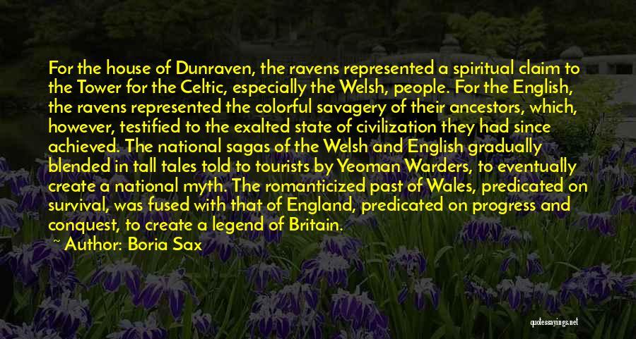 Savagery Vs Civilization Quotes By Boria Sax