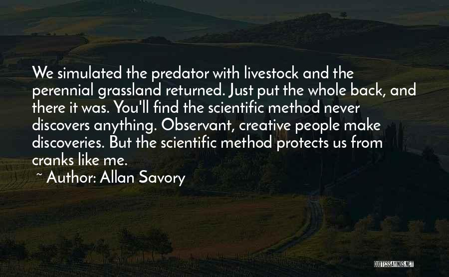 Savory Quotes By Allan Savory