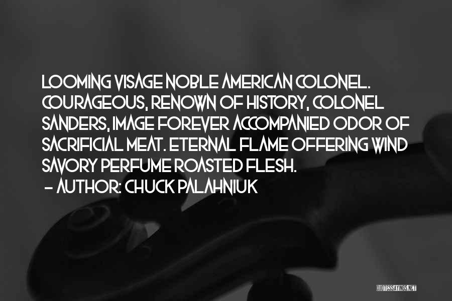 Savory Quotes By Chuck Palahniuk