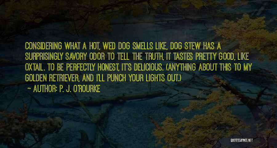 Savory Quotes By P. J. O'Rourke