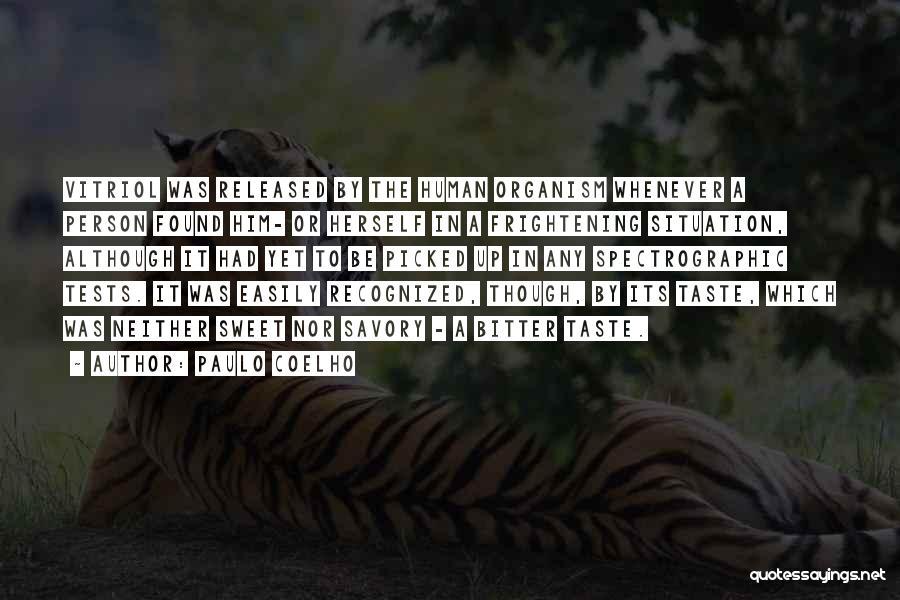 Savory Quotes By Paulo Coelho