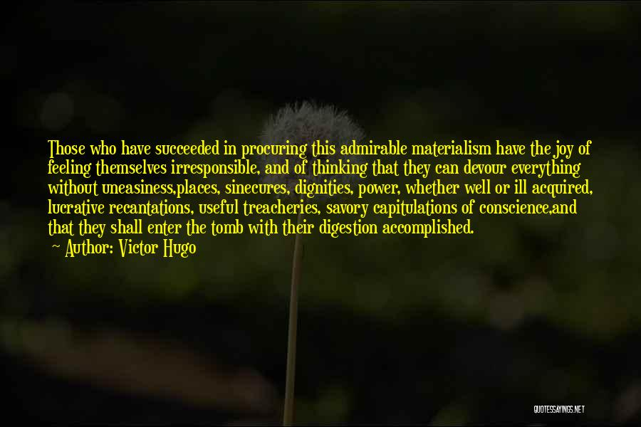 Savory Quotes By Victor Hugo