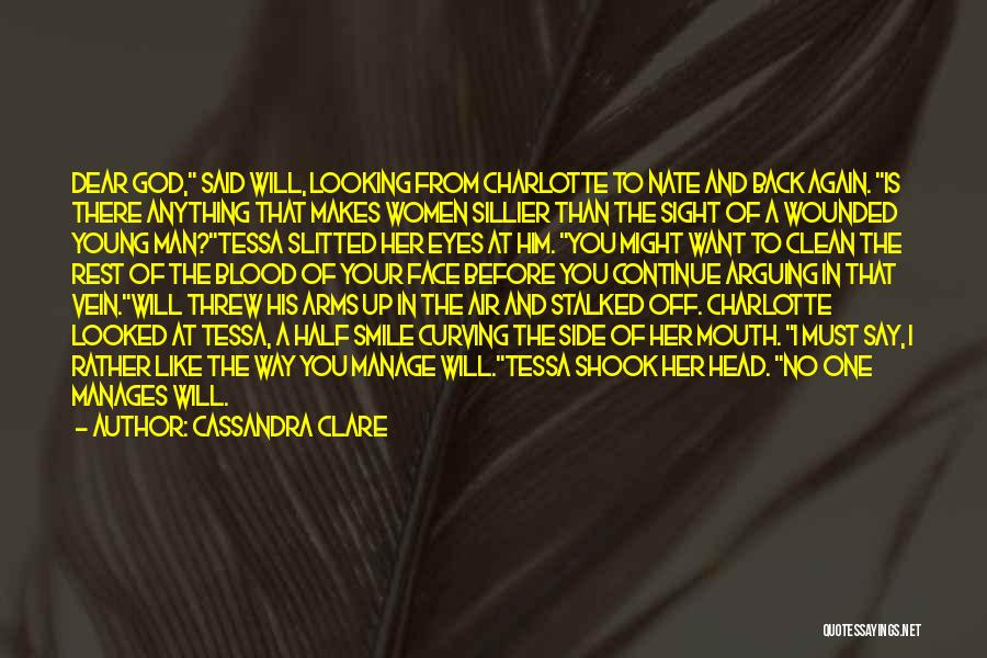 Say Anything You Want Quotes By Cassandra Clare