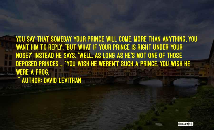 Say Anything You Want Quotes By David Levithan