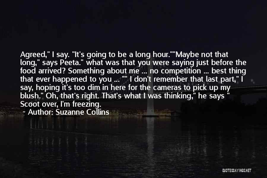 Say Something Funny Quotes By Suzanne Collins
