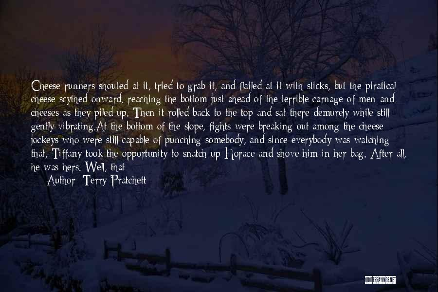 Say Something Funny Quotes By Terry Pratchett